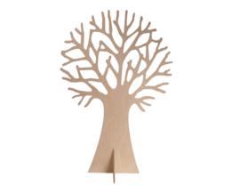 Sierboom van hout (speelbelovend)