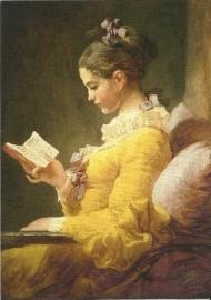 Jong lezend meisje, Jean-Honore Fragonard