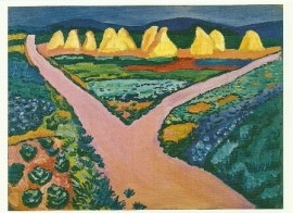 Groentevelden, August Macke