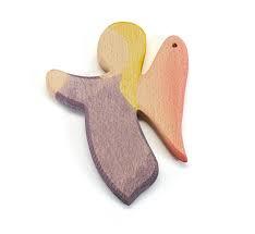 Engel hanger paars