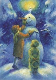 Sneeuwpop met kaars, Elisabeth Nyman