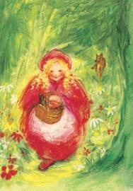 Roodkapje poster, Marjan van Zeyl