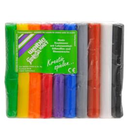 Kneedwas Weible 10 heldere kleuren, 150 g