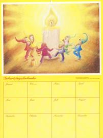 Dwergen Geburtstagkalender, Almut Hewel