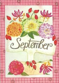 September, maandkaart Inga Berkensträter
