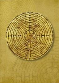 Labyrinth van de kathedraal van Chartres