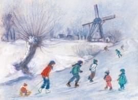 Schaatspret, Marjan van Zeyl