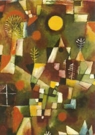 Volle maan, Paul Klee