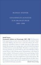 Gesammelte Aufsätze zur Dramaturgie 1889-1900 GA 29 / Rudolf Steiner