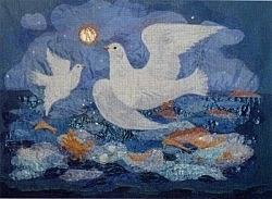 De duiven van St. Columba, Iona, Diana Khan