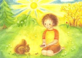 Jongen met eekhoorntje, Heike Stinner