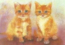 Twee katjes, Loes Botman