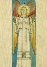 Staande engel, Desiderius Lenz