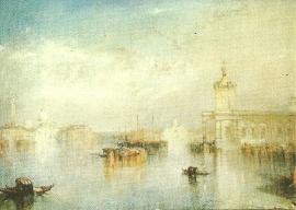 Venetië, de Dogana, J.M.W. Turner