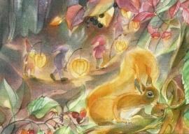 Lampionnen optocht, Marie Laure Viriot