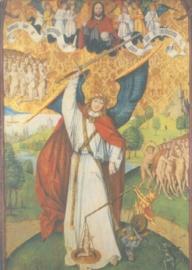 Aartsengel Michael, de zielenweger, Meester van Olillet