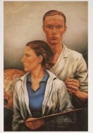 Dubbelportret, Edgar Fernhout