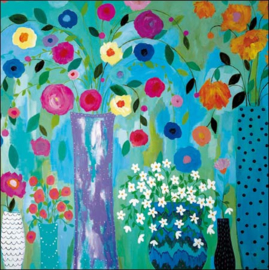 Bloemen waterval, Carrie Schmitt