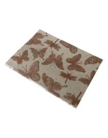 Olino Paperworks, Notebook Libelle/vlinders, Room/koper