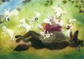 De wolf en de zeven geitjes, Franziska Sertori-Kopp