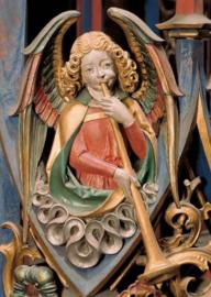 Trombone blazende engel