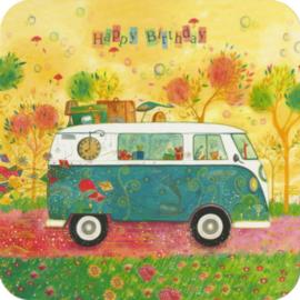 De bus, happy birthday, Jehanne Weyman