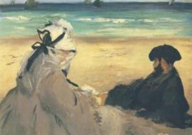 Aan het strand, Edouard Manet