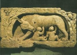 Romulus en Remus, Romaanse kunst