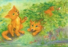 Spelende vossen, Tatjana Kornetova