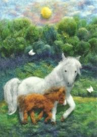 Paarden in de wei, Heike Schwarzgruber