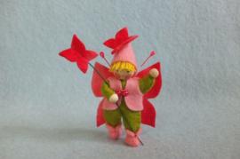 Vlinderelfje roze