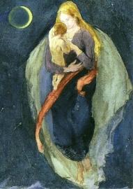 Moedergod, Ernst Kreidolf