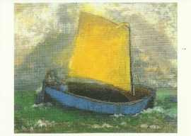 Het mystieke scheepje, Odilon Redon