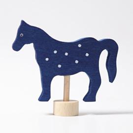 blauw paard steker