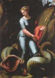 De heilige Margaretha, Rafael