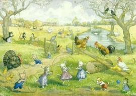 Lente op de boerderij, Molly Brett