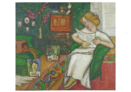 In de kamer, Gabriele Münter