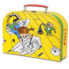 Pipi Langkous koffertje (25x18x8 cm)