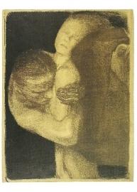 Pieta-1903, Käthe Kollwitz