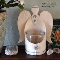 Windlichthouder Engel (zelfmaakpakketje)