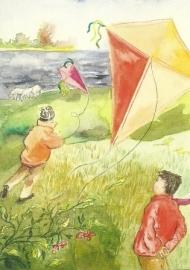Met de wind, Anne Wenzel