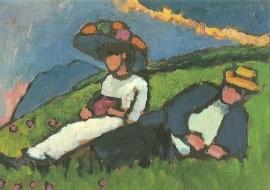 Jawlensky en von Werefkin, Gabriele Münter