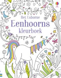 Eenhoorns kleurboek