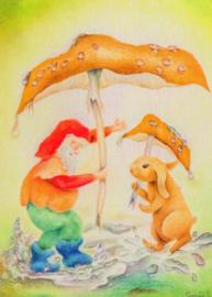Paddenstoel-paraplu 37, Sonja Schoppers