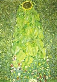 De zonnebloem, Gustav Klimt