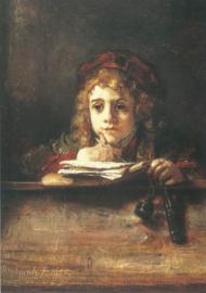 Titus aan de lezenaar, Rembrandt