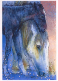 Paard en veulen II, Loes Botman