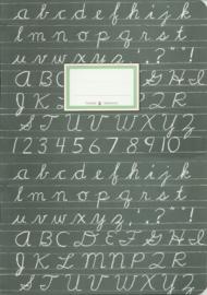 Schrift schoolbord, Taurus journal