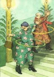 Vrouwen met hoepels,  Inge Löök
