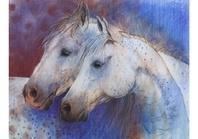 Twee paardenhoofden, Loes Botman